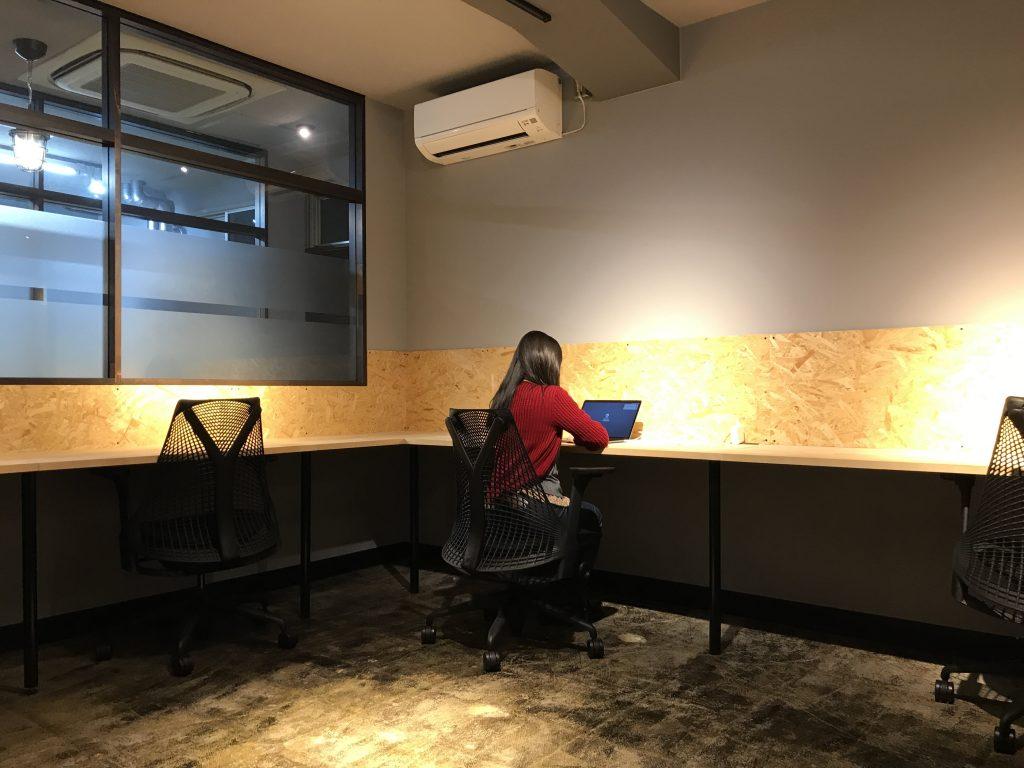 個室オフィス 505号室の画像です