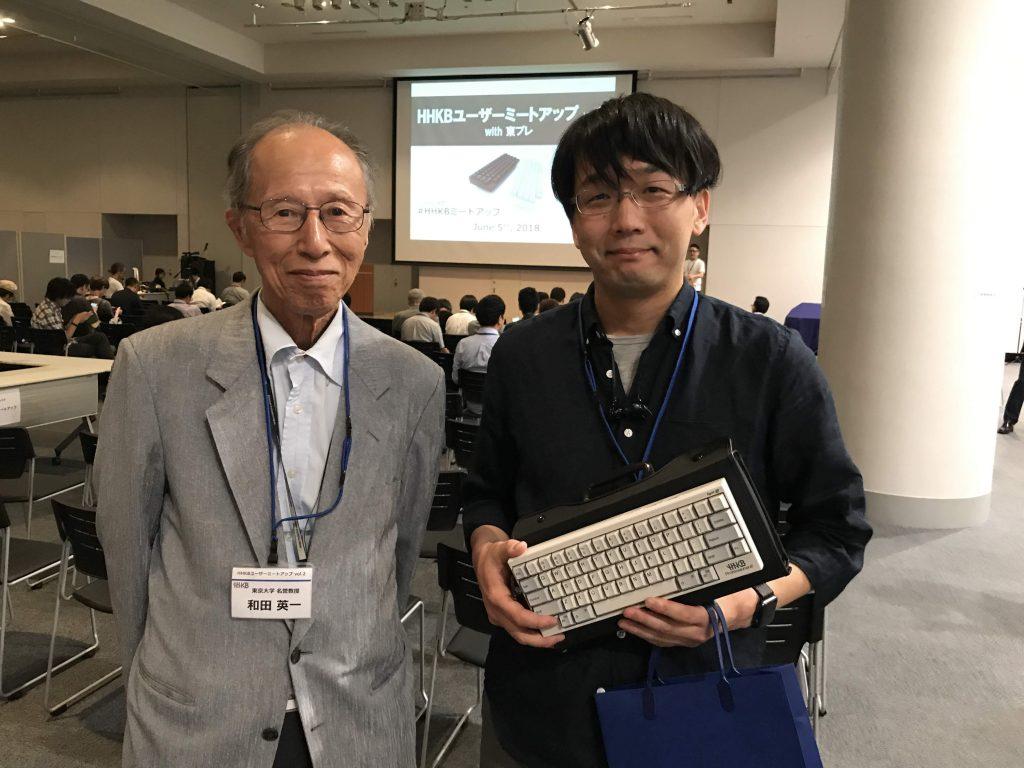 憧れの和田先生と記念撮影!