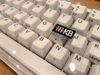 リニューアル後のHHKBキーボードルーフにつけられた「HHKB」の刻印